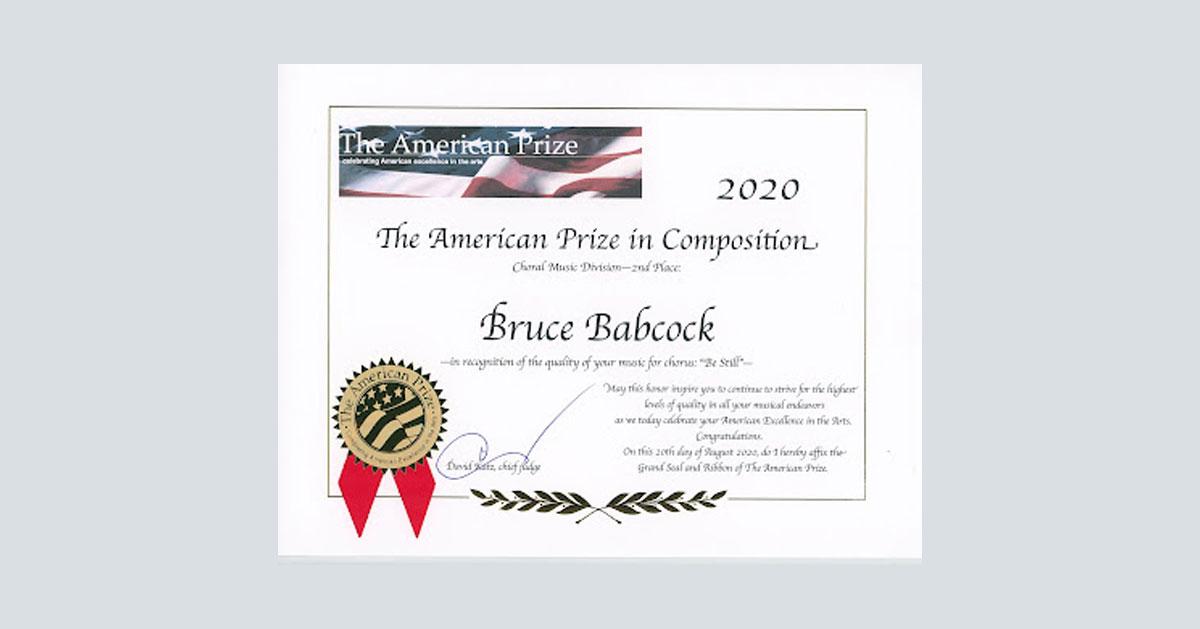 American Prize 2020