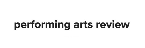 Performing Arts Review